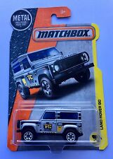 Matchbox Land Rover Defender Ninety 90 Turbo Diesel NAS Safari Wolf Wagon Police