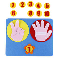 New ListingChildren Maths Toy Finger Counting 1-10 Kindergarten Mathematics Educational Ba