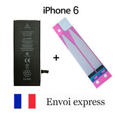 Batterie interne IPHONE 6 neuve + adhésif autocollant- 1810 mAh (6G) NEW battery