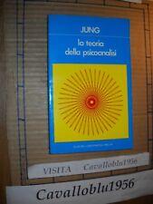 LIBRO - LA TEORIA DELLA PSICOANALISI - JUNG - MELITA 1987 - NUOVO