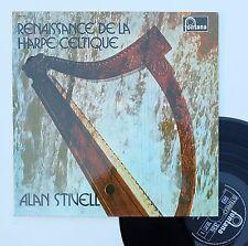 """Vinyle 33T Alan Stivell  """"Renaissance de la harpe celtique"""""""
