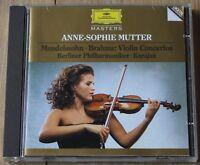Mendelssohn, Brahms: Violin Concertos - Anne Sophie-Mutter (1981) - A Fine CD