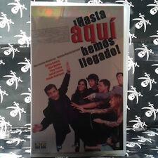 ¡HASTA AQUI HEMOS LLEGADO! (Yolanda García Serrano) VHS . Carlos Sobera,  Elisa