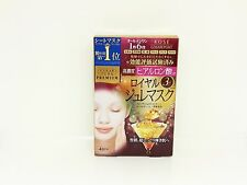 KOSE COSMEPORT CLEAR TURN Premium Royal Jelly Mask 30g x 4 pcs