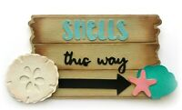 SHELLS THIS WAY TITLE PREMADE PAPER PIECING PIECE 3D DIE CUT MYTB  KIRA