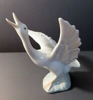 LLADRO Retired Porcelain Running Goose  / Duck.  Spain No. 1263