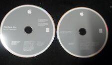 Apple Macbook 2008 Leopardo OS X 10.5.5 discos DVD de instalación paquete 2Z691-6321-A