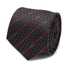 Star Wars Darth Vader Black Lightsaber Stripe Men's Tie, Officially Licensed