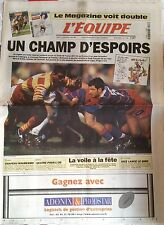 L'Equipe Journal 16/5/1998; Finales Perpignan-Stade Français/ / Mauresmo/ Giro