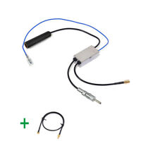 DAB + Car radio aerial DAB/FM/AM antenna converter/splitter With MMCX SMB Cable