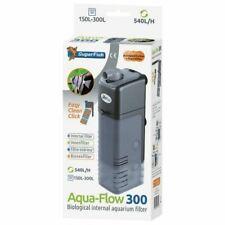 Aqua Flow 300 Dual Action Internal Aquarium Filter Fish Tank Filter 540L/H