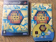 Let's Make A Soccer Team Ps2 Game! Complete! Look In The Shop!