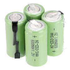 16pcs Ni-Cd 600mAh 1.2V 2/3AA rechargeable battery NiCd Batteries Green Color