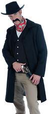 DEADWOOD DRIFTER WESTERN GUNSLINGER MENS COWBOY FANCY DRESS COSTUME