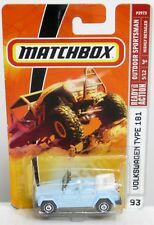 Matchbox Outdoor Sportsman #93 Volkswagen Type 181 The Thing