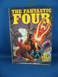 FANTASTIC FOUR VF+ FIRESIDE BOOK FIRST PRINT 1979