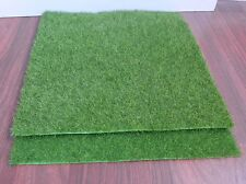 Artificial Turf Lawn Grass Plants For Miniature Doll House Decoration (set of 2)