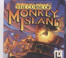 the curse of monkey island pc  2 discs 1997