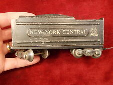 #9 of 26, OLD VTG ANTIQUE MODEL RAILROAD TRAIN CAR, MARX LINES, NEW YORK CENTRAL