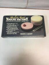Harvest Maid  Countertop Food Dehydrator Yogurt Maker Accessory Rare