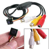 HD 600TVL Mini Audio Pinhole CCTV Camera Home Security Micro Hidden spy Cam