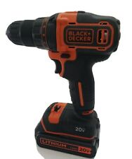 Black & Decker BDCDD220 20V Li-Ion Drill Driver LBXR20. (read description.)