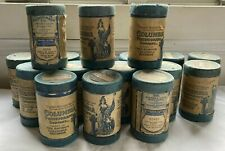 Lot of 17 Antique Columbia Cylinder Records and Cases