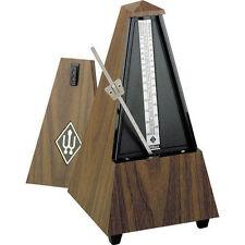 WITTNER 845131 Metronome pyramidal-noyer- walnut grain- without bell  -NEUF