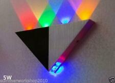 5w Led Indoor Wall Sconce Up/Down Light Fixture Garage Lamp Blubs Multi color