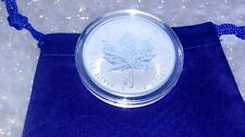 2018 Reverse Proof 1oz Fine Silver .9999 Canadian Antelope Privy Maple Leaf Coin