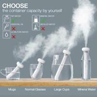 Portable Ultrasonic Aroma Humidifier Air Diffuser Atomizer Mist Fogger Puri I8W9