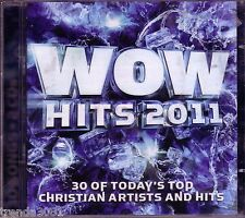 WOW Hits 2011 2CD Box Classic Christian Rock Pop PASSION AMY GRANT SWITCHFOOT