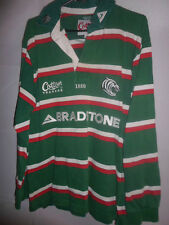 2003-2004 Leicester Tigers Home Rugby Union Shirt adult small (13045)
