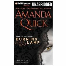 BURNING LAMP unabridged audio book on CD by AMANDA QUICK - Brand New  9.5 Hours