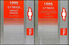1995 Chevy S 10 Shop Manual Set S10 Blazer Pickup Truck Repair Service Books OEM