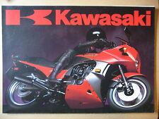 MOTO KAWASAKI  GAMME 1984 CATALOGUE DEPLIANT PROSPECTUS BROCHURE