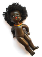 1970s Ussr Russian Soviet Plastic Large Size Toy Doll African Girl