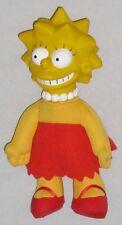 "Plush Lisa 8"" Simpson Doll Wearing Red & Yellow"