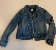 Crewcuts Jean Denim Jacket Girls Size 12