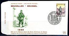 (B) 1367 FDC 1966 - Dag van de postzegel.