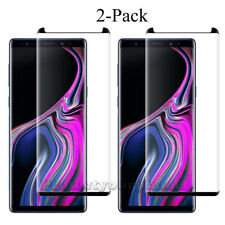 2-PACK Tempered Glass Screen Protector lot For Galaxy Note 9/Note 8/S9/S8/Plus