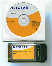 Wireless Netgear Pcmcia card Wg511 v2