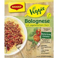 7 x MAGGI Veggie For Bolognese vegetarian food / For 3 servings NEW