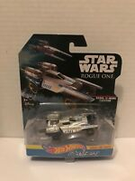 Disney Hot Wheels Star Wars Carships Rogue One Rebel U-Wing Fighter Diecast 1:64