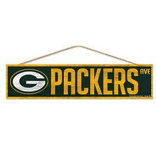 NFL Green Bay Packers Avenue Wood Sign Holzschild Holz Wandschmuck Deko