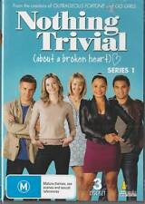 NOTHING TRIVIAL - SERIES 1 - NEW & SEALED REGION 4 DVD FREE LOCAL POST