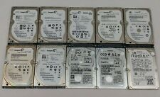 LOT OF 10 - 320GB Seagate, HGST, Hitachi SATA 2.5