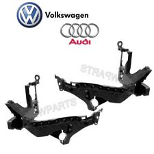 For Audi A4 Quattro allroad S4 Pair Set of 2 Headlight Support Brackets