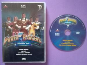 DVD Film Ita Fantascienza POWER RANGERS Zeo dvd 5 No Cofanetto vhs cd lp mc (H1)