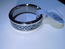 New listing Stainless Steel Cool Design Band Ring Size 10 - 27 Carats